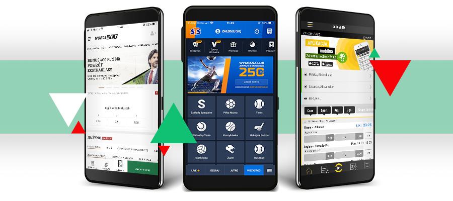 bonusy na aplikacje mobilne u bukmacherów